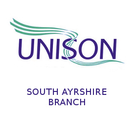Unison South Ayrshire Logo