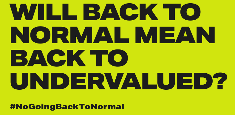 No back to normal image