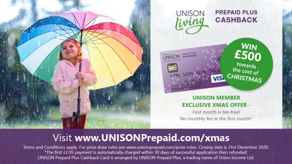 UNISON Prepaid Credit Card